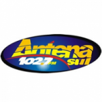 Logo da emissora Rádio Antena Sul 102.7 FM