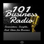 Logo da emissora 101 Business Radio 101.0 FM