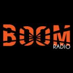 Logo da emissora Boom Radio