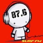 Logo da emissora Radio Surf 87.6 FM