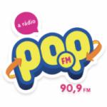 Logo da emissora Rádio Pop 90.9 FM