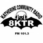 Logo da emissora 8KTR Katherine Community Radio 101.3 FM