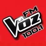 Logo da emissora Radio La Voz 100.1 FM