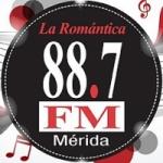Logo da emissora Radio La Romántica 88.7 FM