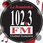 Logo da emissora Radio La Romántica 102.3 FM
