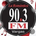Logo da emissora Radio La Romántica 90.3 FM
