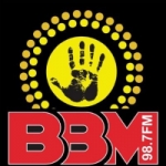 Logo da emissora Radio BBM 98.7 FM