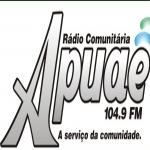 Logo da emissora Rádio Apauaê 104.9 FM