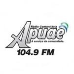 Logo da emissora Rádio Apuaê 104.9 FM
