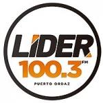 Logo da emissora Radio Lider 100.3 FM