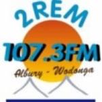 Logo da emissora Radio 2REM 107.3 FM