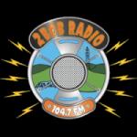 Logo da emissora Radio 2BOB 104.7 FM