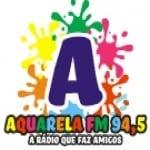 Logo da emissora Rádio Aquarela 94.5 FM