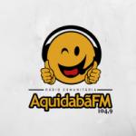 Logo da emissora Rádio Aquidabã 104.9 FM