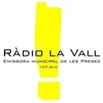 Logo da emissora Radio La Vall 107.6 FM