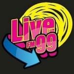 Logo da emissora Radio Live 99 FM