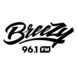 Logo da emissora Radio Breezy 96.1 FM