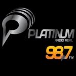Logo da emissora Radio Platinum 98.7 FM