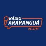 Logo da emissora Rádio Araranguá 95.5 FM