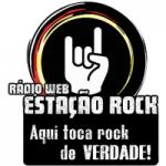 Logo da emissora Rádio Web Estação Rock