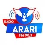 Logo da emissora Rádio Arari 90.3 FM