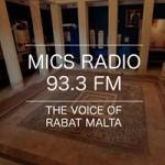 Logo da emissora Mics Radio 93.3 FM