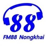Logo da emissora Radio Nong Khai 88.0 FM