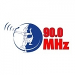Logo da emissora Lao Youth Radio 90.0 FM