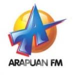 Logo da emissora Rádio Arapuan 95.3 FM