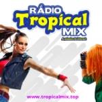 Logo da emissora Rádio Tropical Mix