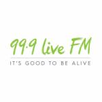 Logo da emissora Radio Live 99.9 FM