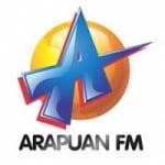 Logo da emissora Rádio Arapuan 98.5 FM