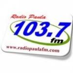 Logo da emissora Radio Paula 103.7 FM