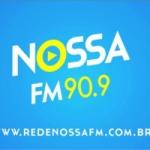 Logo da emissora Rádio Nossa 90.9 FM