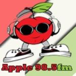 Logo da emissora Radio Apple 98.5 FM
