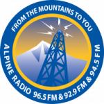Logo da emissora Alpine Radio 96.5 FM