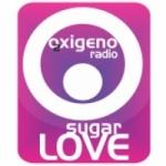 Logo da emissora Radio Oxigeno Sugar Love