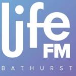 Logo da emissora Radio Life 100.1 FM