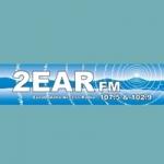 Logo da emissora Radio 2EAR 107.5 FM
