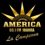 Logo da emissora Radio America 89.1 FM