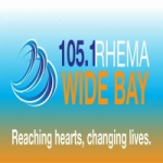 Logo da emissora Radio Rhema Wide Bay 105.1 FM