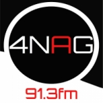 Logo da emissora Radio 4NAG 91.3 FM