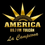 Logo da emissora Radio America 89.7 FM