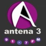 Logo da emissora Radio Antena 3 91.7 FM