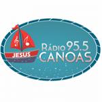 Logo da emissora Rádio Canoas FM