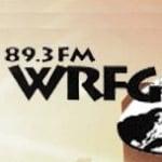 Logo da emissora Radio WRFG 89.3 FM