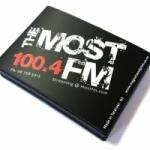 Logo da emissora Radio The Most 100.4 FM
