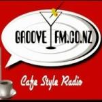 Logo da emissora Radio Groove  107.7 FM