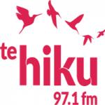 Logo da emissora Radio Te Hiku 97.1 FM