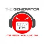 Logo da emissora Radio The Generator 107.7 FM
